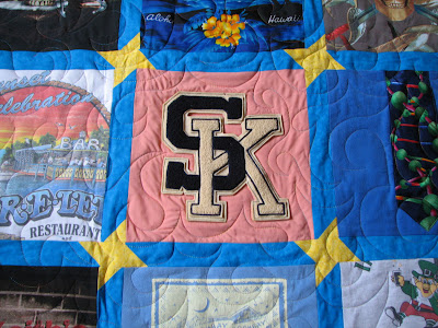 Love this block! This is a close up of the friendship star too
