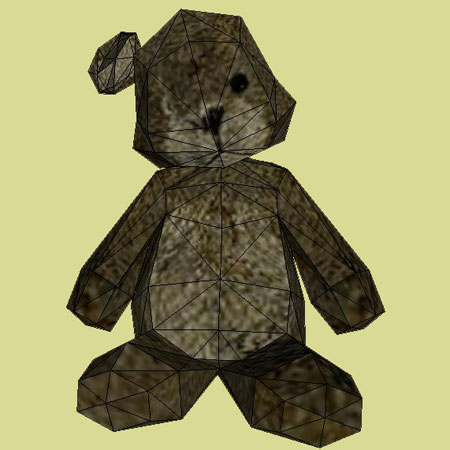 Teddy Bear Papercraft