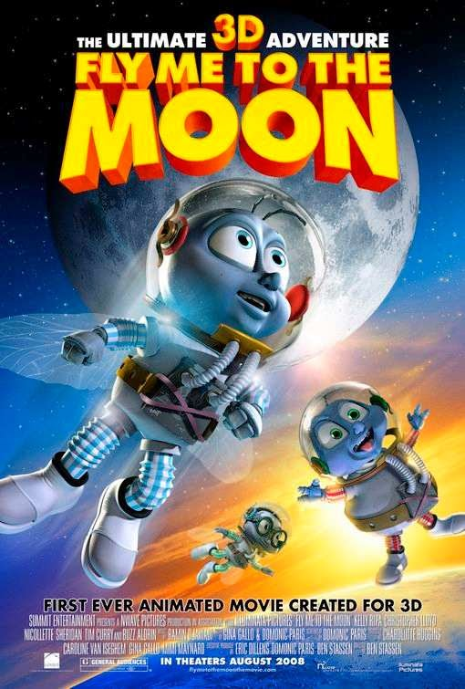 Poster Of Fly Me to the Moon (2008) Full Movie Hindi Dubbed Free Download Watch Online At Alldownloads4u.Com