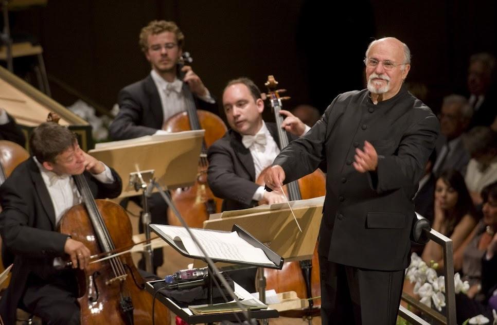 David Zinman conducting