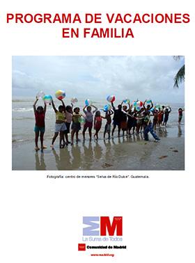 Programa Vacaciones en Familia 2013