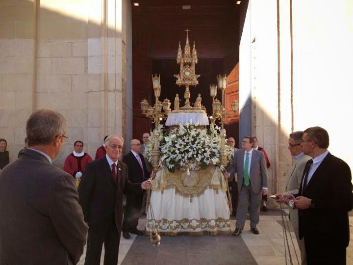 Corpus 2013. VI centenario de la erección de la Iglesia Colegial Basílica de Santa María de Xàtiva