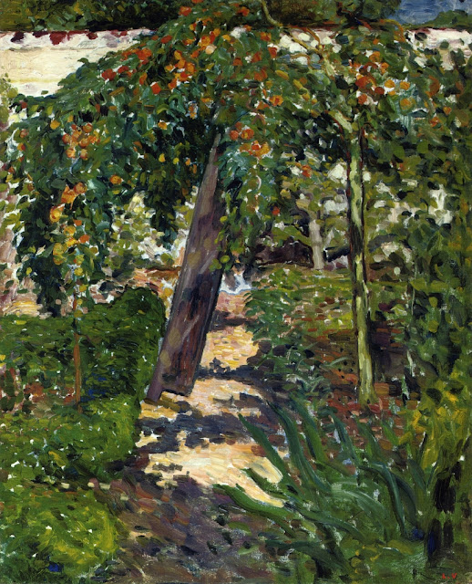 Louis Valtat - A Tree in the Garden
