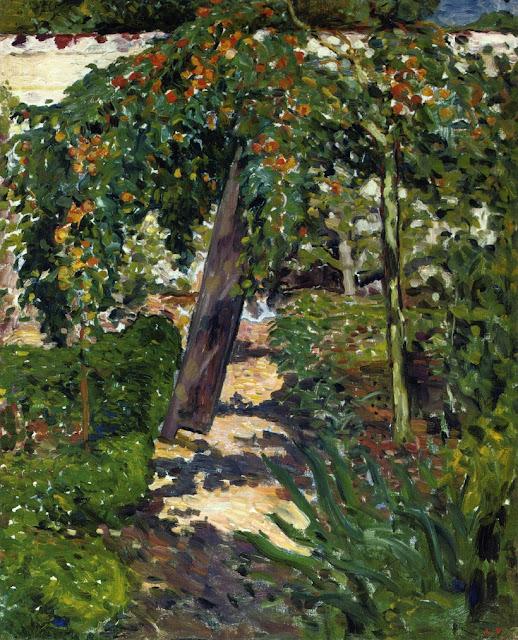 Louis Valtat - A Tree in the Garden