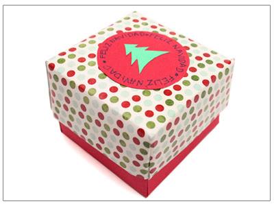 Caja rápida de regalo tipo origami