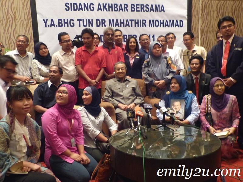 Lunch With YAB Tun Dr. Mahathir Mohamad & YAB Tun Dr. Siti Hasmah