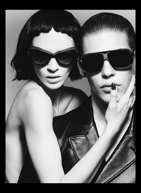 YSL Yves-Saint-Laurent-eyewear-Spring-Summer-2012-campaign
