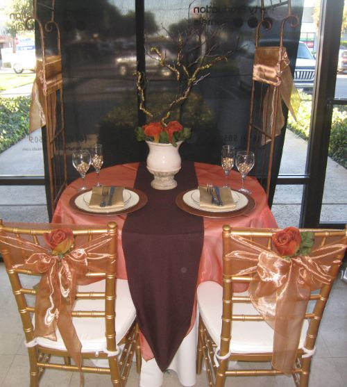 Chiavari a  table up runner runners dress   Overlays simple diego table can table cover. rentals and san