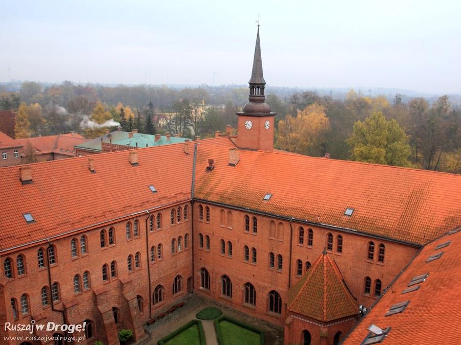 Katedra w Pelplinie - widok na Klasztor Cystersów