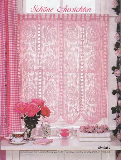 Tende all 39 uncinetto che passione mamma e casalinga - Passione italiana camera da letto ...