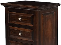 Maple Nightstands with Drawers