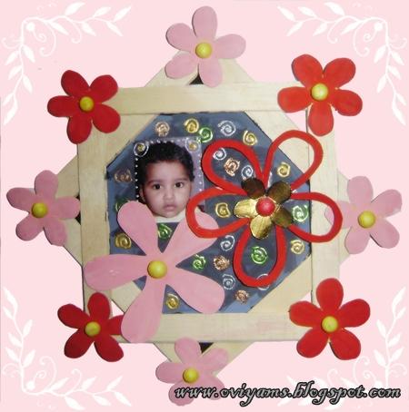 Photo Frame Using Ice Cream Sticks Craft