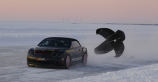 Bentley Supersports shatters world speed record on sheet ice