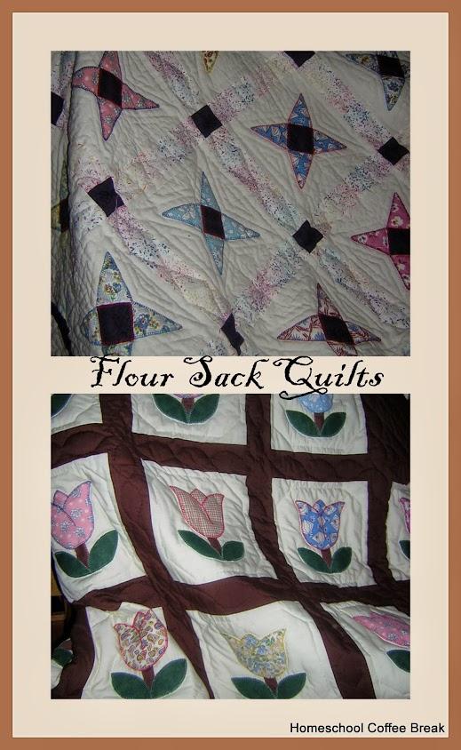 Flour Sack Quilts