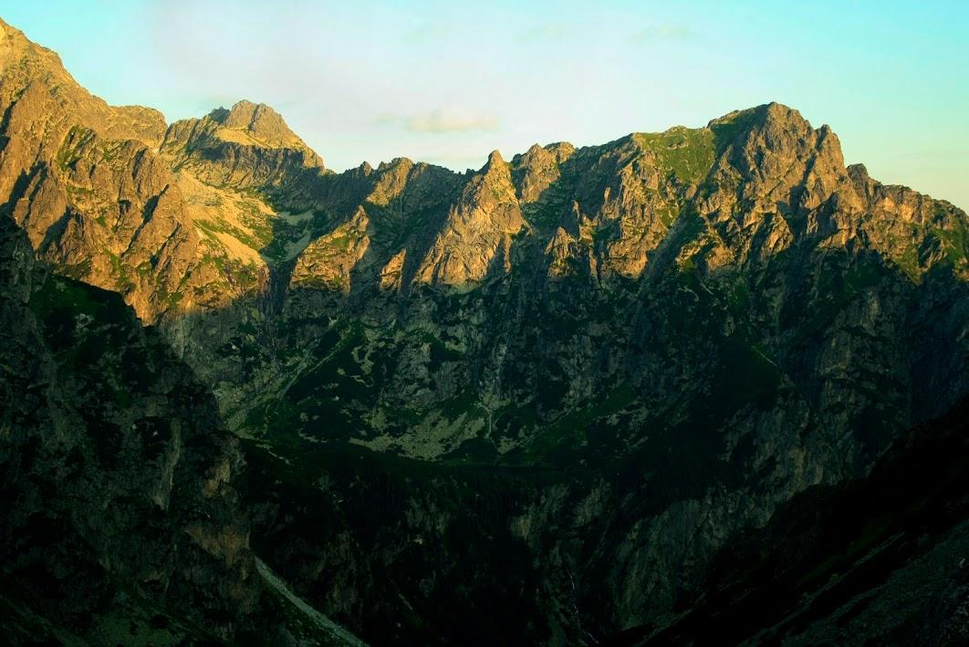 Dolina Ciężka - wschód słońca