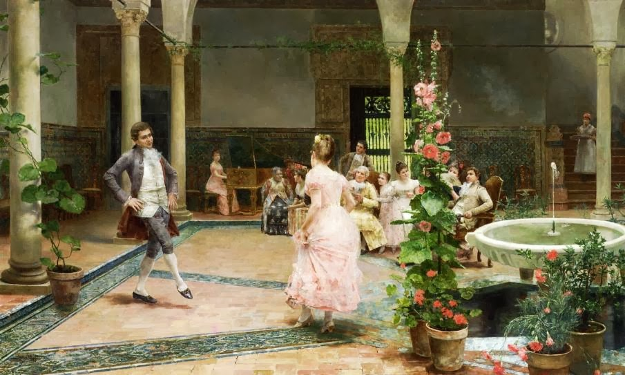 José Jiménez Aranda - The Dancing Lesson