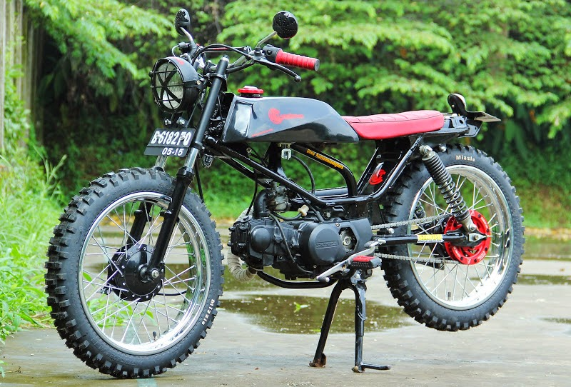 Modifikasi Jupiter Z Jadi Trail