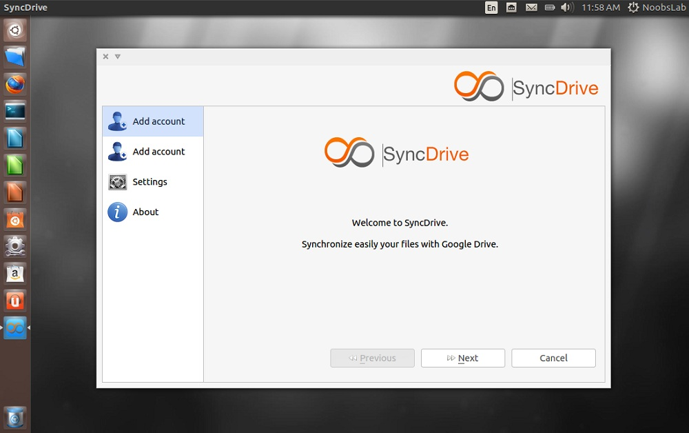 SyncDrive (Google Drive) available for Ubuntu/Linux Mint