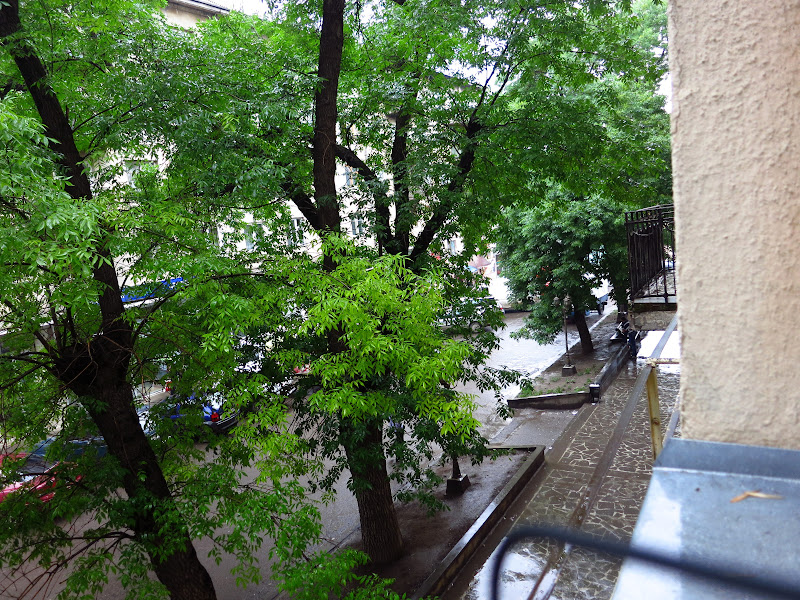 View from our window, Hotel Meskheti