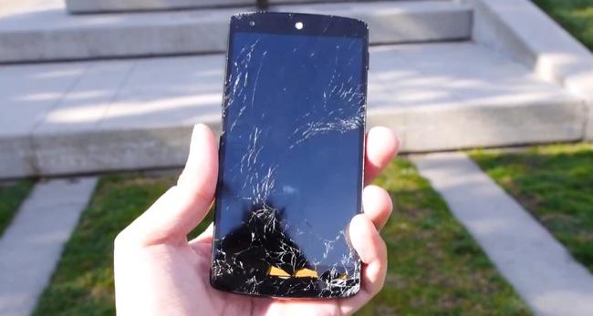 Nexus 5 broken