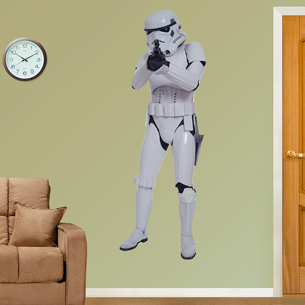 Lovely  u udW x uH Stormtrooper vinyl wall decal
