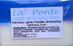 สบู่ โคจิก-น้ำนมแพะ แท้ 100% จากฟิลิปปินส์ สบู่เพื่อผิวขาว พร้อมคุณค่าการบำรุงจากน้ำนม