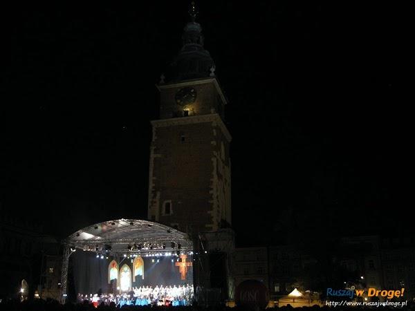 Kraków - koncert na rynku