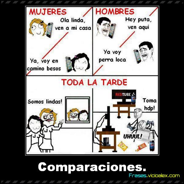 Frases Comparaciones Las Mejores Frases Para El Facebook De
