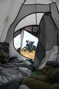 Pogled iz šatora