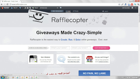 Blogging 101: How to Run a Rafflecopter Giveaway! - Mom