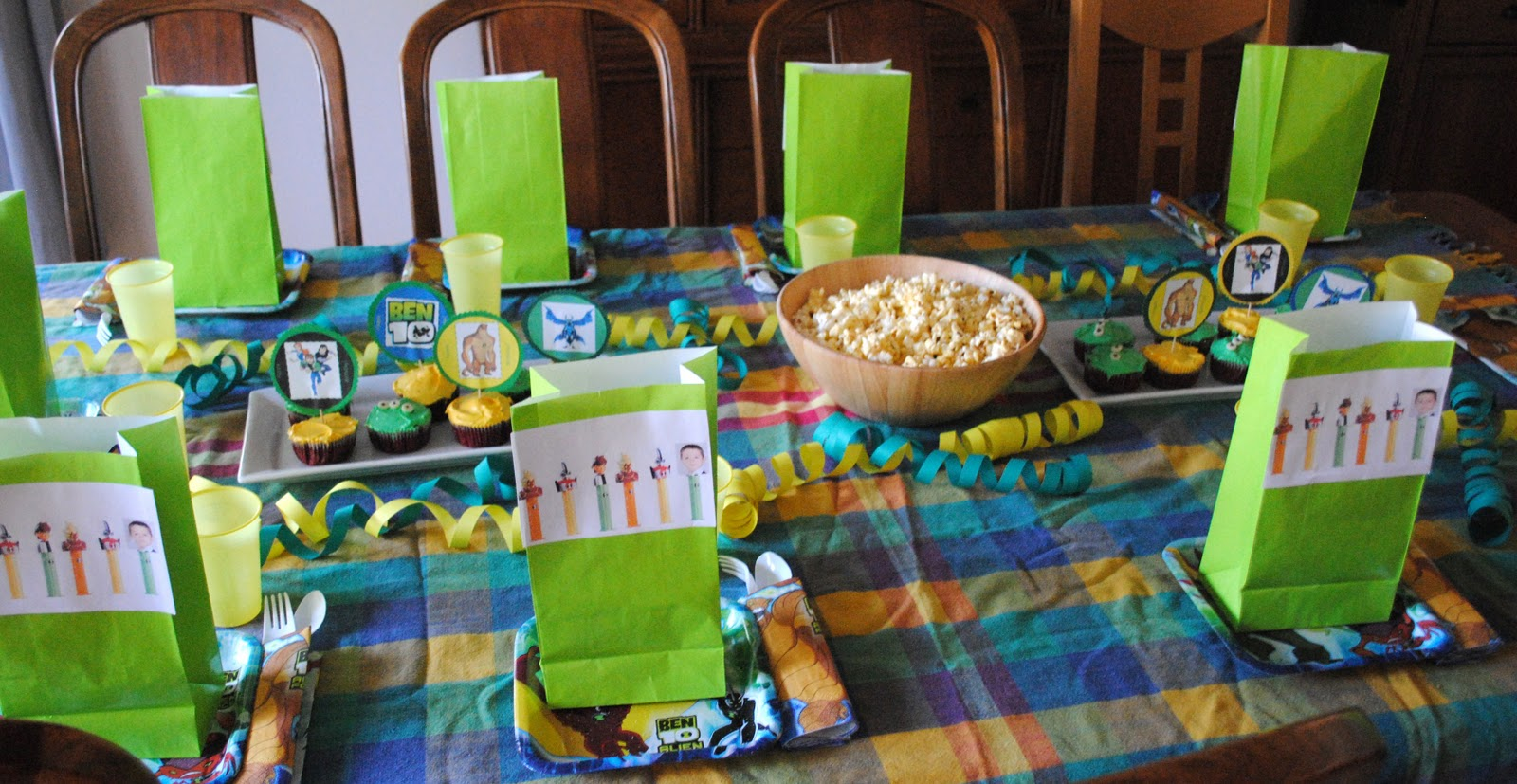 A Ben 10 Birthday Party Party Planning Boy Birthday Ben 10