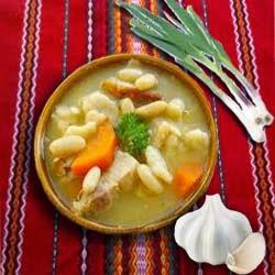 Приготовление блюда фасолевый суп мясом