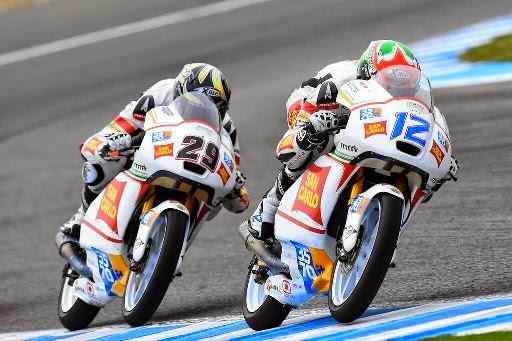 Moto3 - Gara combattiva per i piloti del San Carlo Team Italia a Jerez