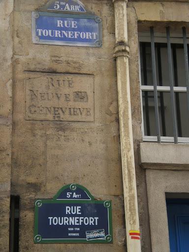 La rue où se trouvait, dans le livre, la pension Vauquer