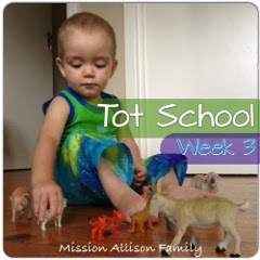 Tot School - Week 3 & 4