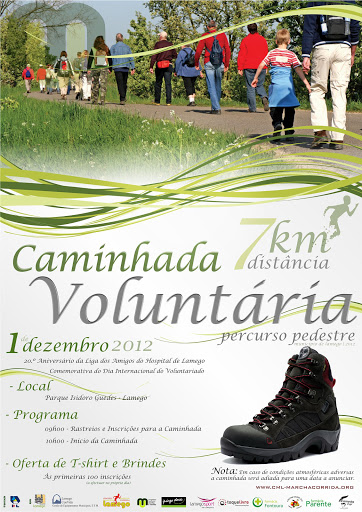 Caminhada Voluntária percorre Lamego a 1 de Dezembro