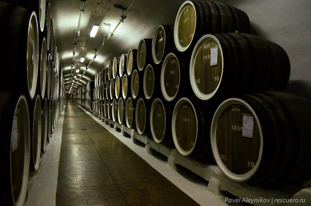 Галерея для выдержки марочных вин