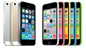 iPhone5s、iPhone5c