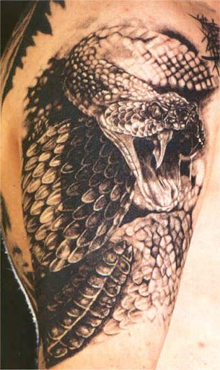 Galeria Tatuazy Ttatuaze Węże