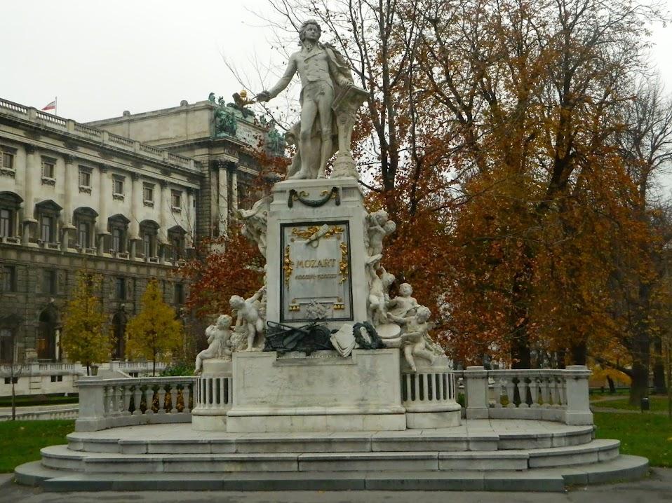 Vienna Mozart statue