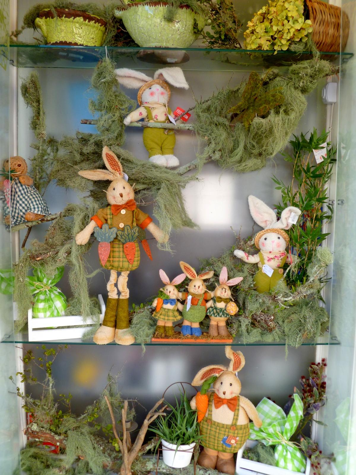 Casa& Jardim VITRINE DE PÁSCOA -> Decoração De Pascoa Para Vitrine De Loja
