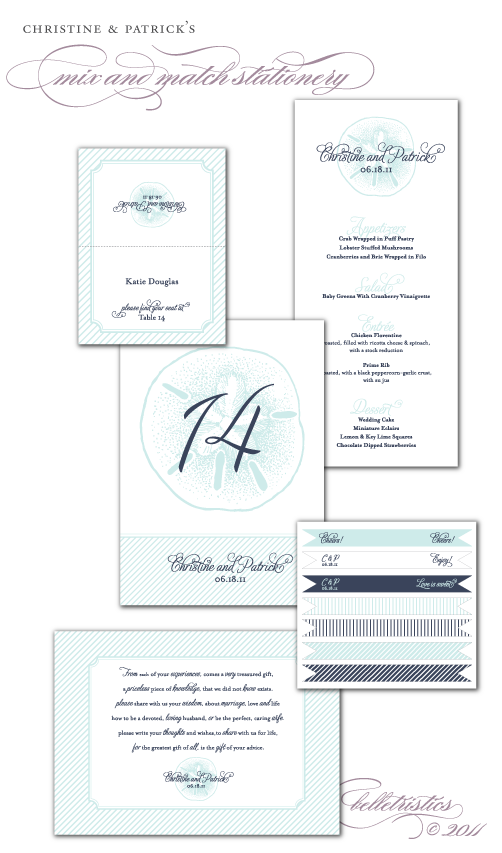 beach nautical sand dollar diy printable wedding reception stationery