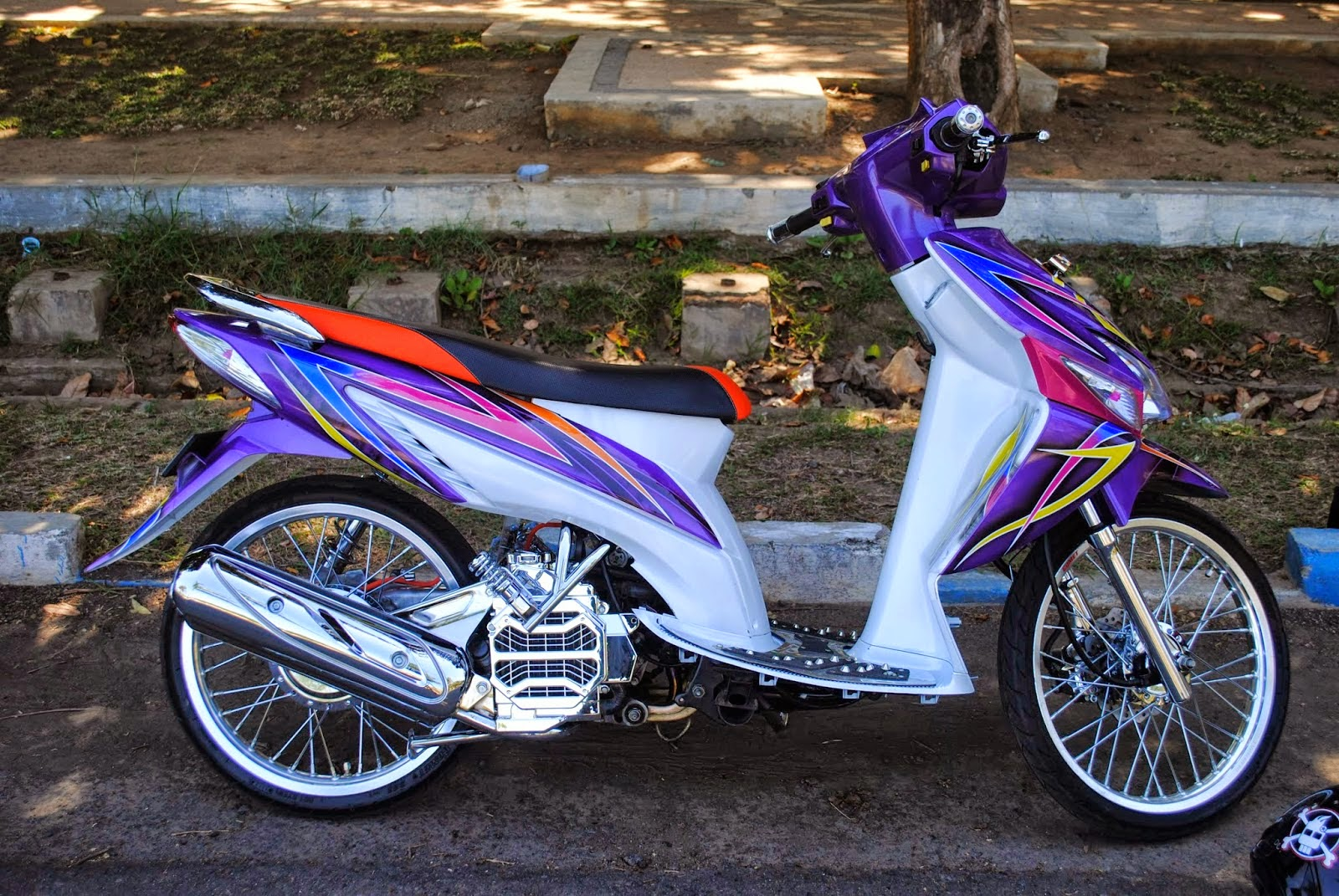 vario modifikasi air brush