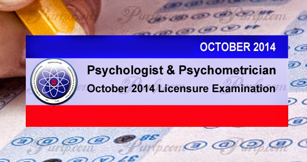 october 2014 psychologist and psychometrician exam results
