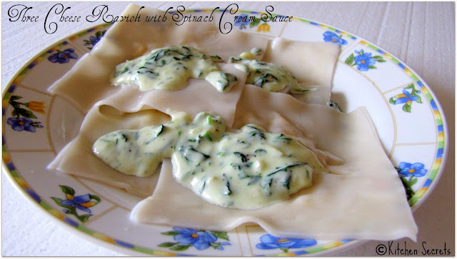 Three cheese ravioli recipes
