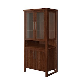 sumatra corner cabinet