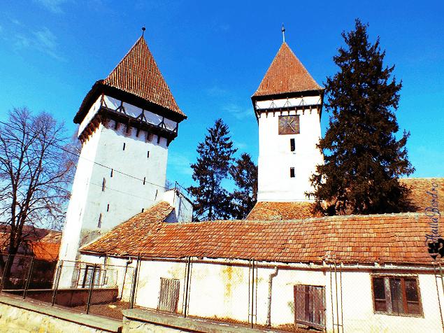 biserica fortificata agnita
