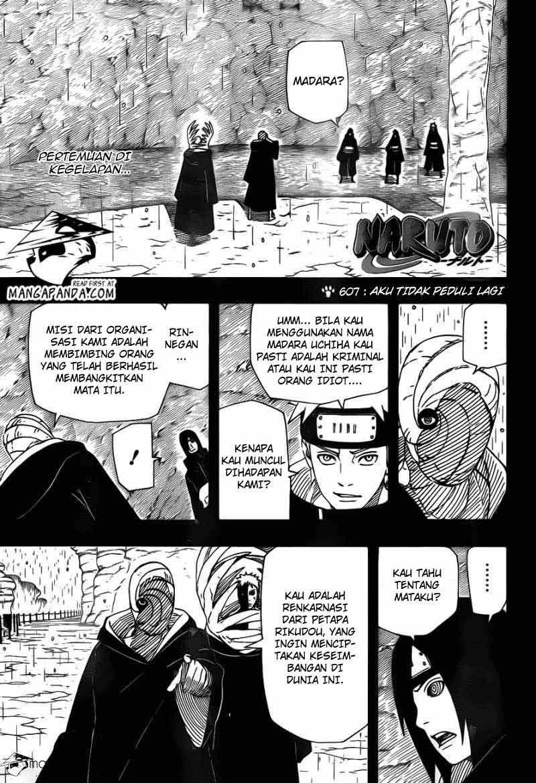 Manga4indo Naruto 607 01 Naruto 607   Aku Tak Peduli