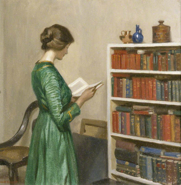 Harold Knight - The Reader.