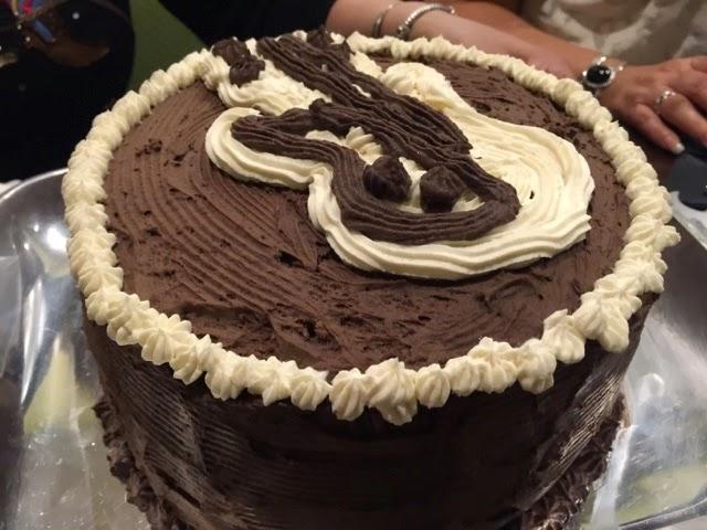 I Love Chocolate Ice Cream Cake Foodieforone